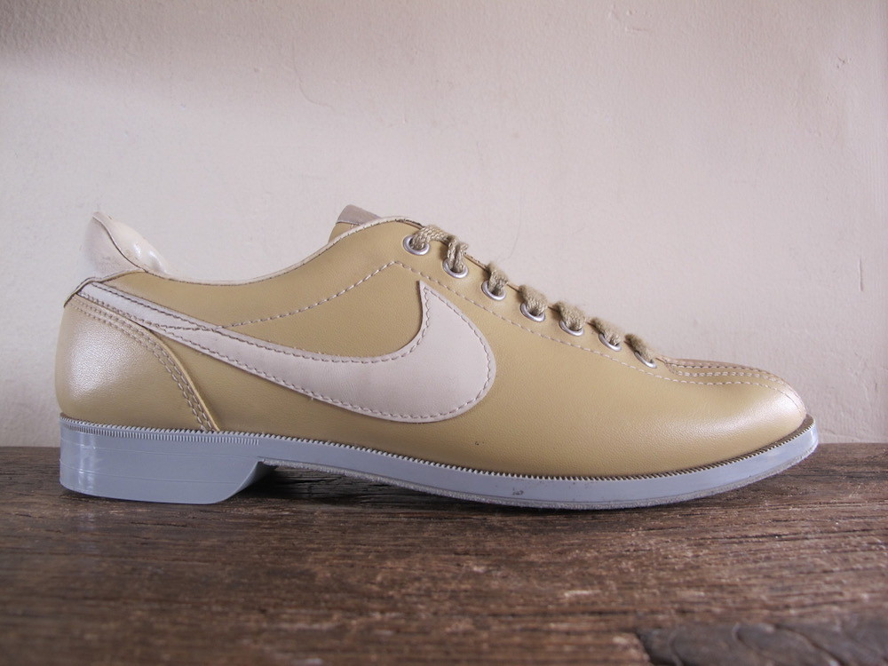 multiple colors uk availability buy popular Details about Rare VTG Nike Bowling Shoes Men's sz 8 / Women's sz 10  sneaker brunswick tan