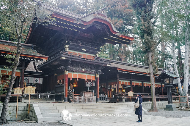suwa travel guide - suwa taisha shrine