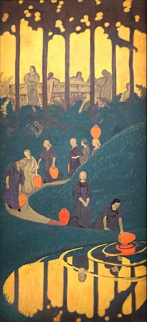 Femmes à la source de Paul Sérusier (musée du Luxembourg, Paris)