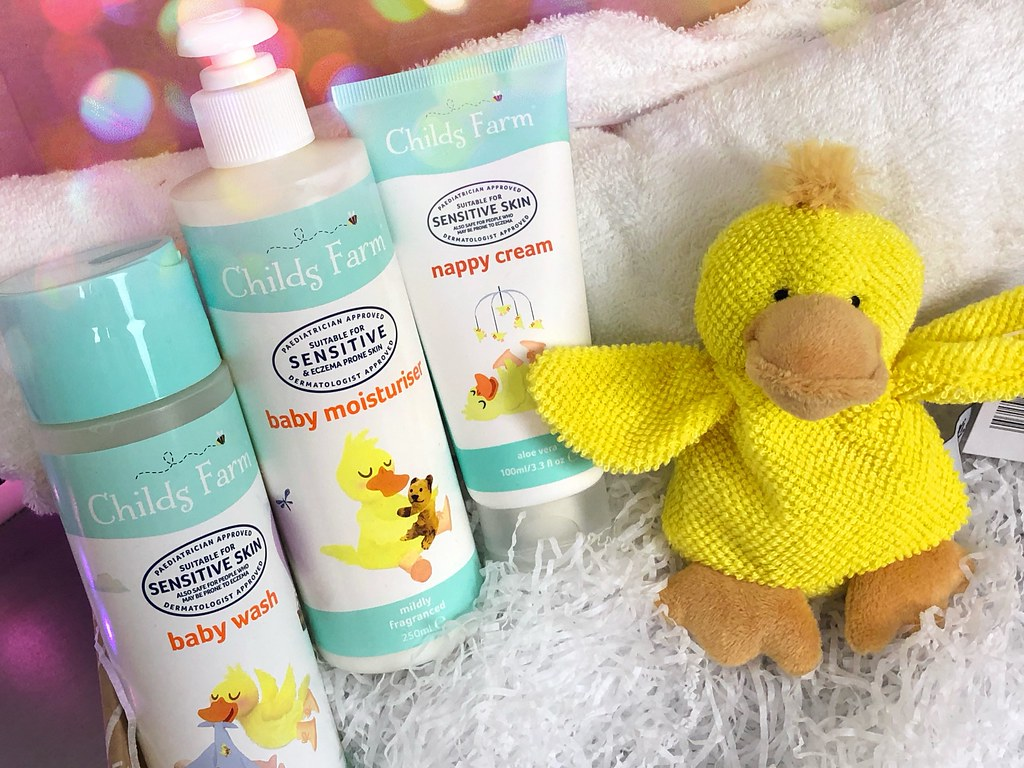 Baby Bath Time Gift Box For New Mums