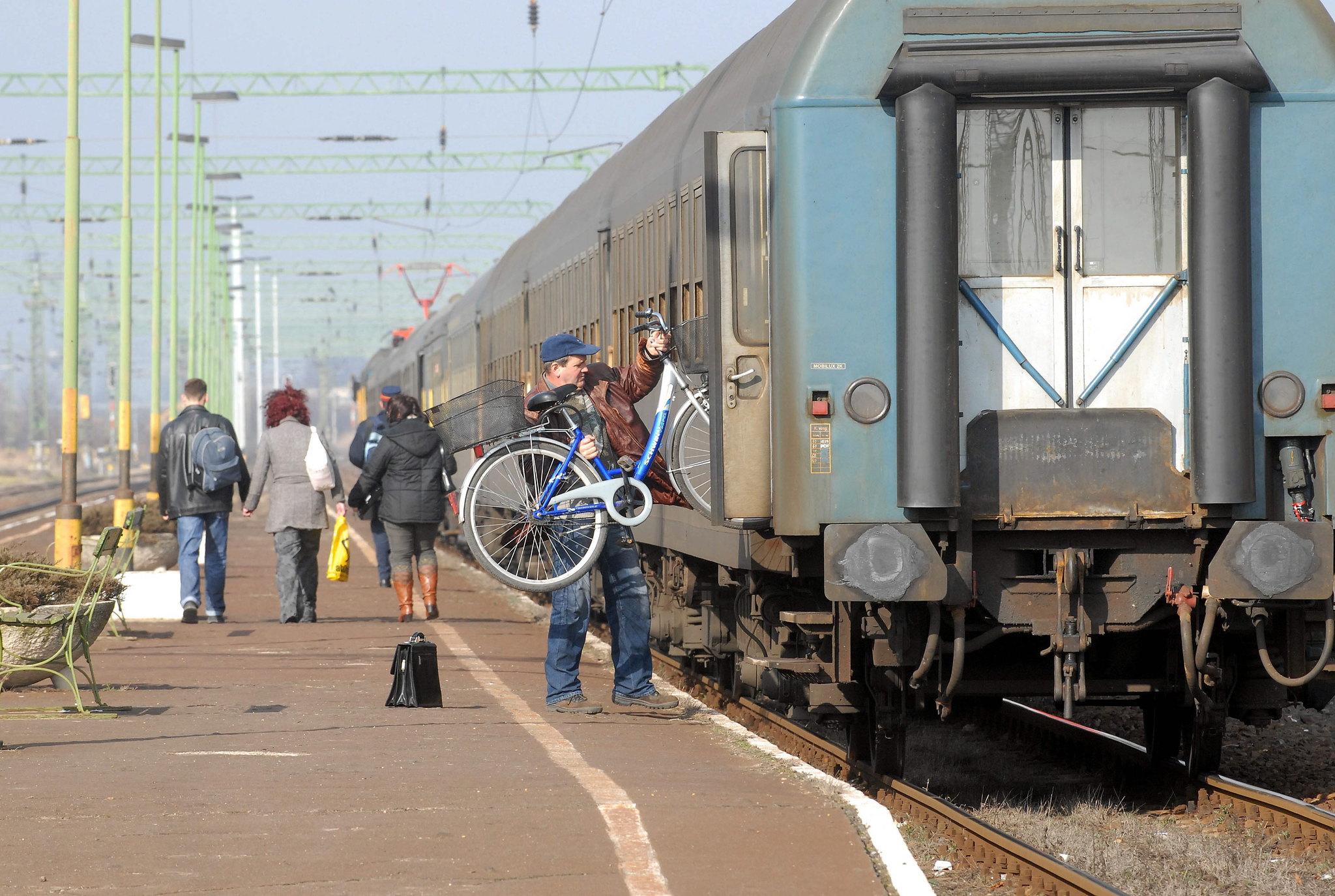Egyre többet biciklizünk vonattal