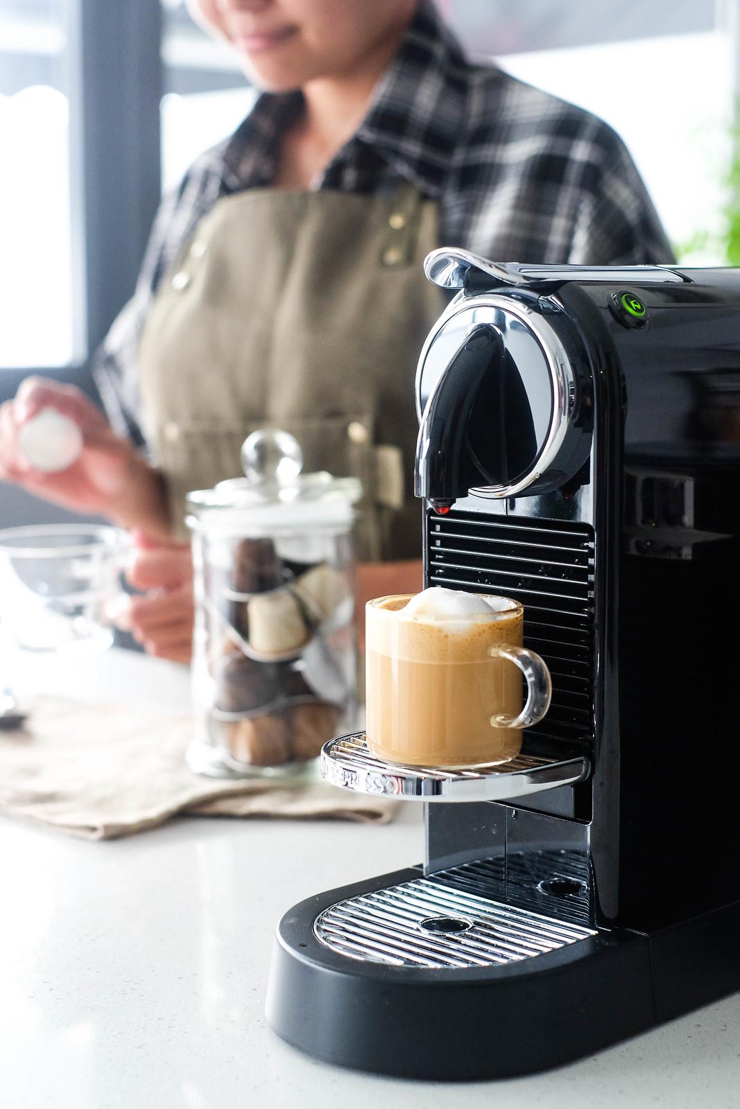 Nespresso Machine Close Up