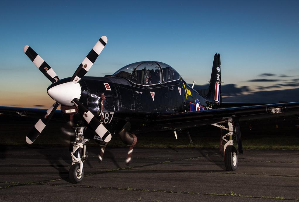 EGUD - Shorts Tucano T1 - Royal Air Force - ZF287