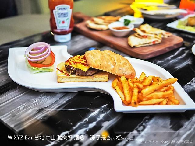 W XYZ Bar 台北 中山 雅樂軒 酒吧 15