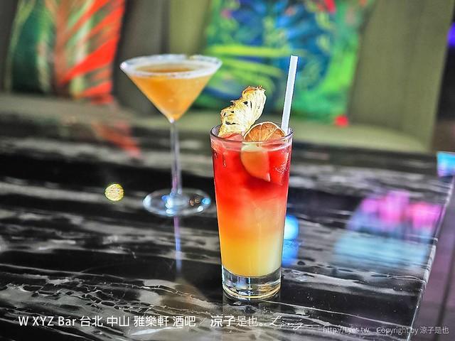 W XYZ Bar 台北 中山 雅樂軒 酒吧 29