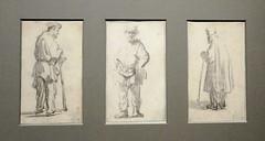 Sketches by Rembrandt, Rijks Museum, Amsterdam, Netherlands