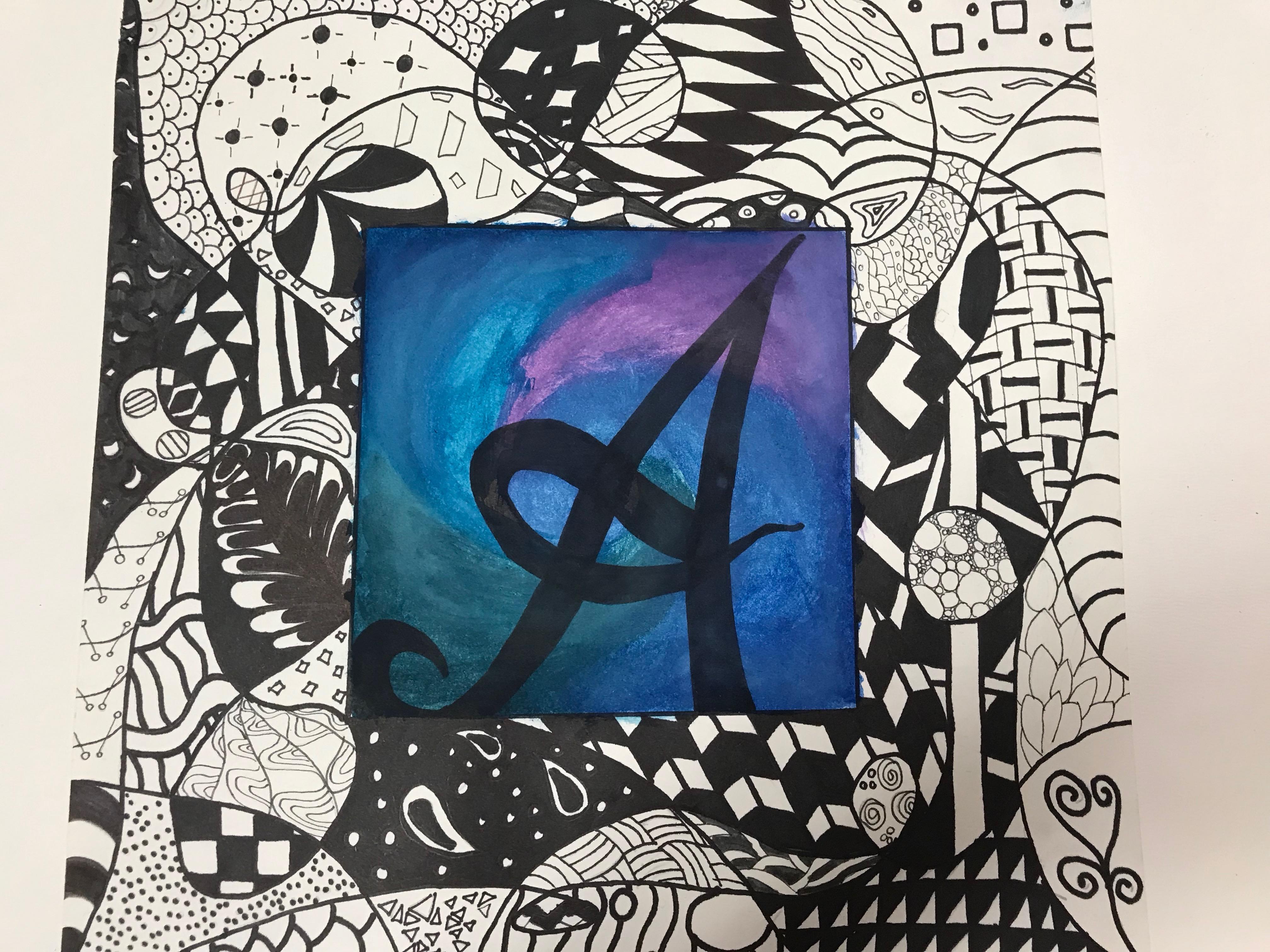 art 1 Zentangle Name
