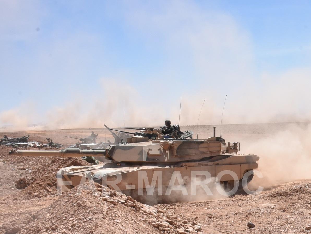 M1A1 SA ABRAMS Marocains / Moroccan M1A1 SA ABRAMS 40839008763_16a8e10544_o
