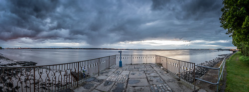 eastham ferry sunrise panorama river mersey merseyside wirral cloud sky outdoor a7rii canon 1740 f4 l landscape ocean water bay sony