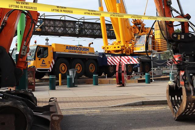 Eight Axle 500 Tonne Mobile Crane