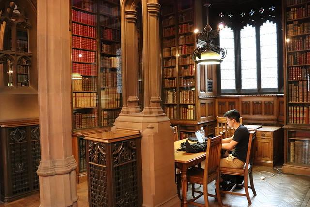 Visitar biblioteca John Rylands