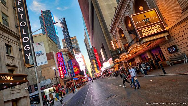 Broadway, W46th Street