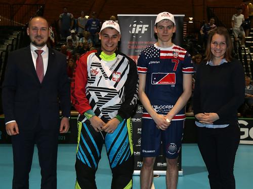 2019 WFC MU-19  Poland v USA