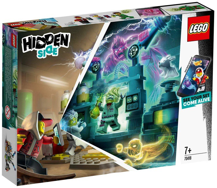 LEGO Hidden Side - 70418 - Laboratory 02
