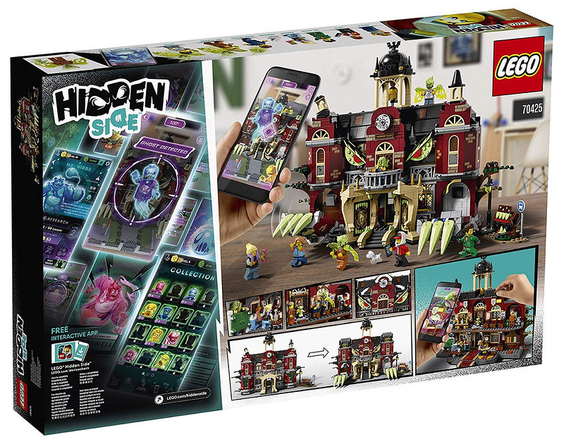 LEGO Hidden Side - 70425 - High School 03