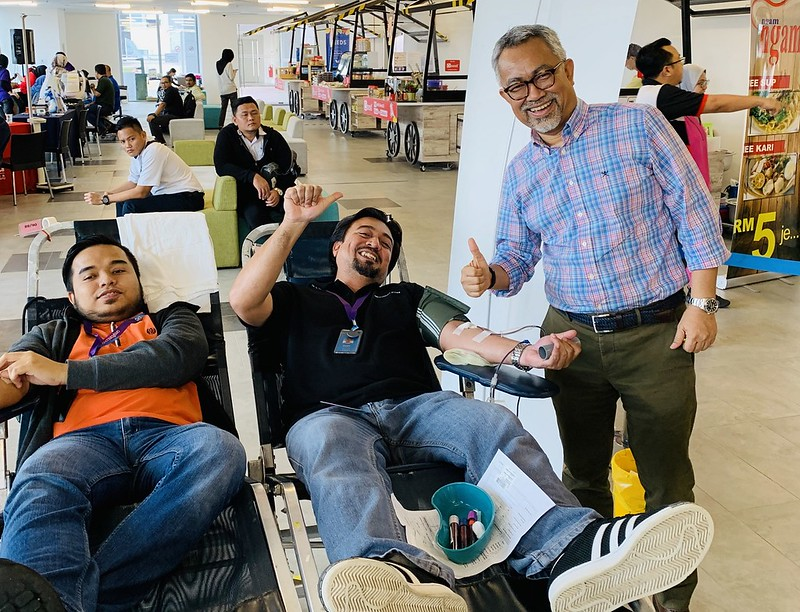 Celcom Drives Blood Donation Campaign