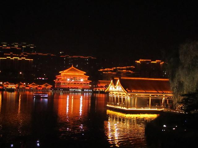 at night in Xi'an