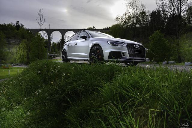 Audi RS3 near Lütisburg - St.Gallen - Switzerland