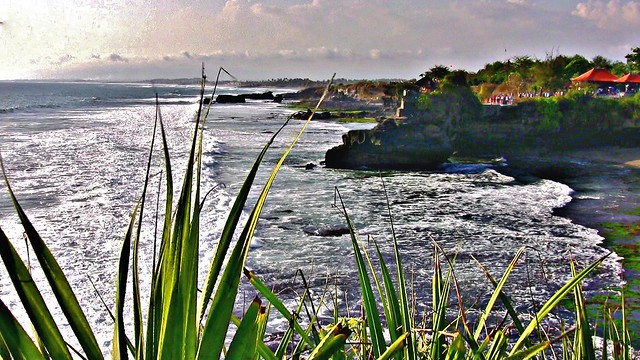 INDONESIEN, Bali -  Rund um den Meerestempel Pura Tanah Lot am ind. Ozean, 18185/11462