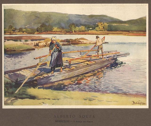 Ilustração de Alberto de Souza | old illustration | Portugal