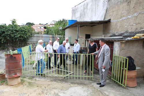 """Visita técnica para conhecer o protótipo """"Controle das Águas na Origem"""" - Comissão de Meio Ambiente e Política Urbana"""