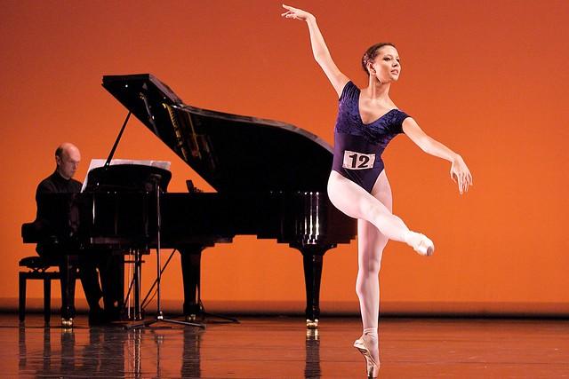 Francesca Hayward at the Genee Competition © Elliott Franks
