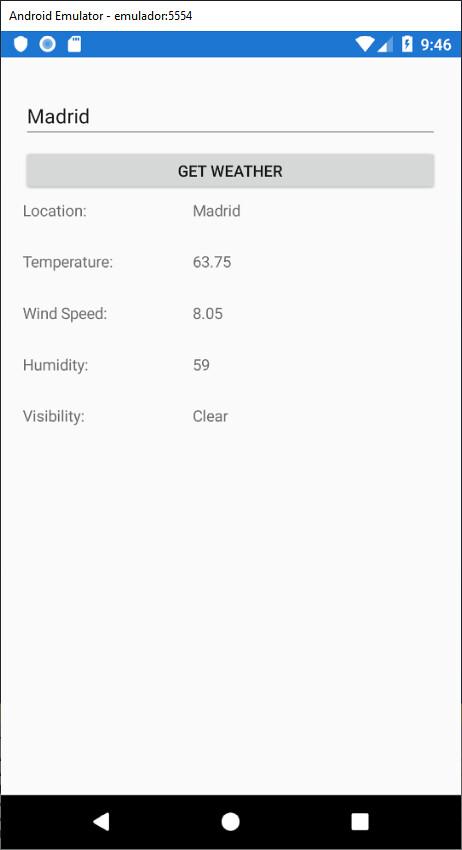 WeatherApp-Aplicacion-EjecucionEnAndroid