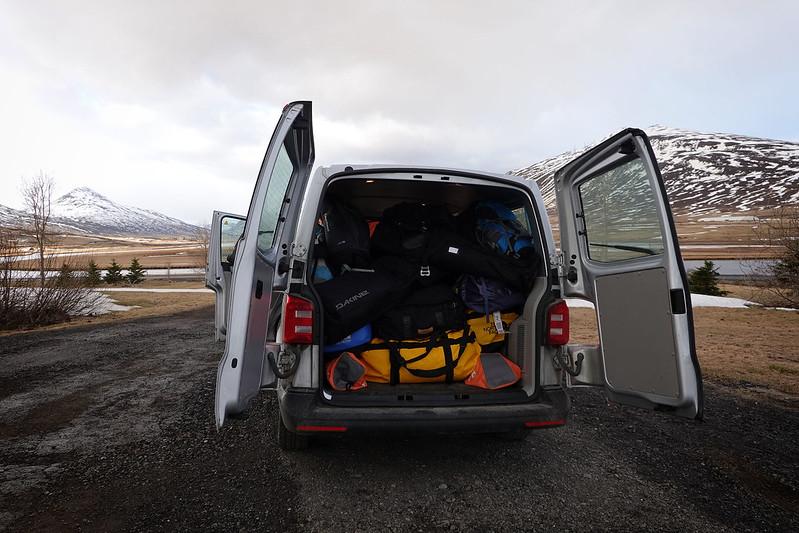 Scialpinismo in Islanda: arrivo a Dalvik