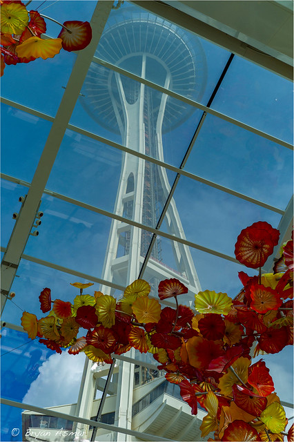 chihuly Glass And Garden (Seattle Washington, Space Needle