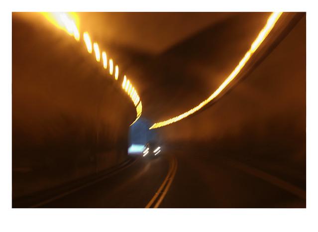 Leaving China Bar Tunnel