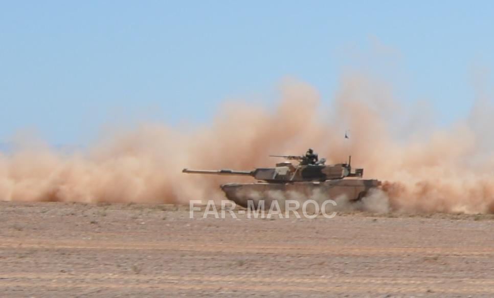 M1A1 SA ABRAMS Marocains / Moroccan M1A1 SA ABRAMS 40848472863_4db66a2bbb_o