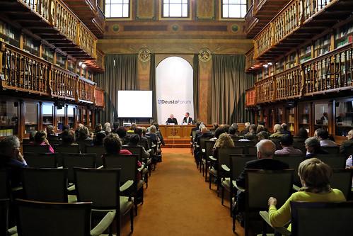 """Conferencia DeustoForum. Cardenal Pedro Barreto Jimeno, S.J: """"Una Amazonia para toda la Humanidad"""""""
