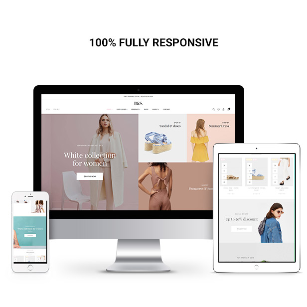 fashion themes 2019 - fully responsive design