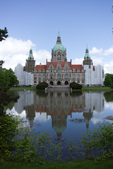 Neues Rathaus, Hannover #RicohGR #RicohGR3 #reflection #symmetry