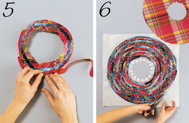 Beach Hat DIY Steps 5 6