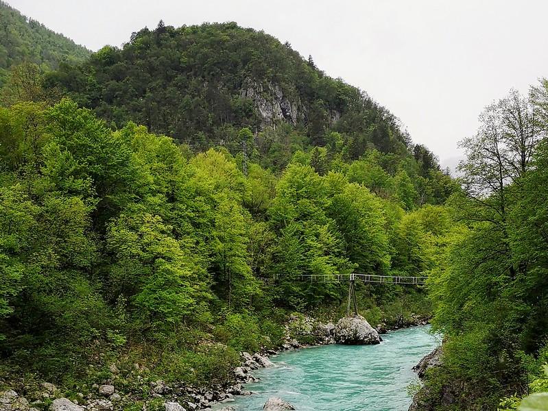 Soca Slovenia riippusilta