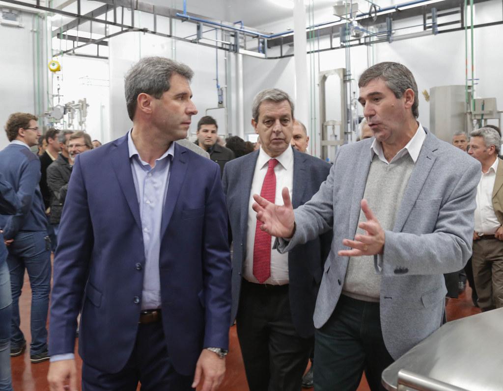 2019-05-10 PRENSA: Inauguración de la Planta de Faena y Frigorífico de San Juan