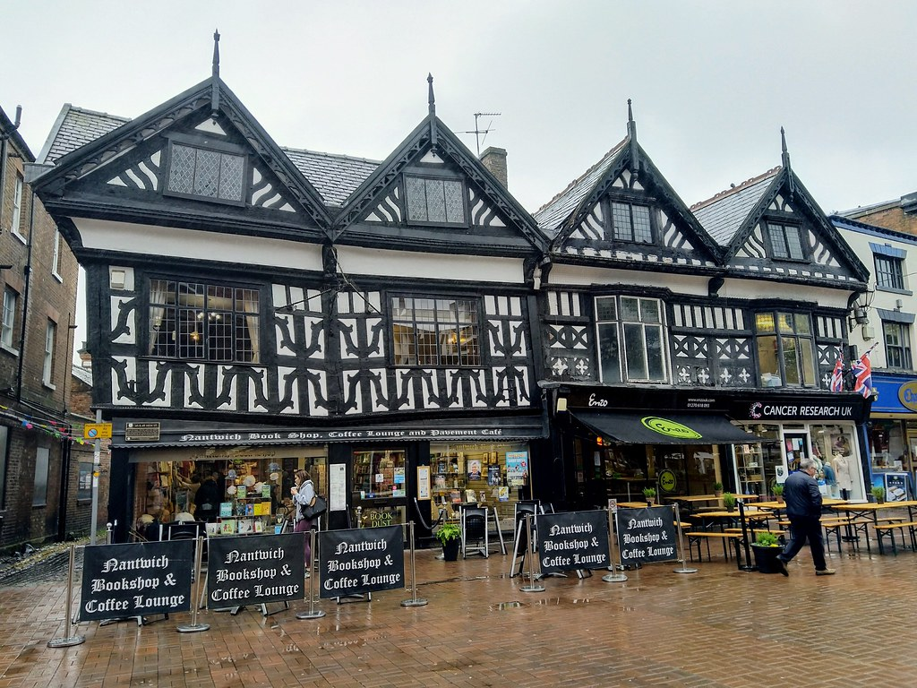 Tudor buildings in Nantwich, Cheshire