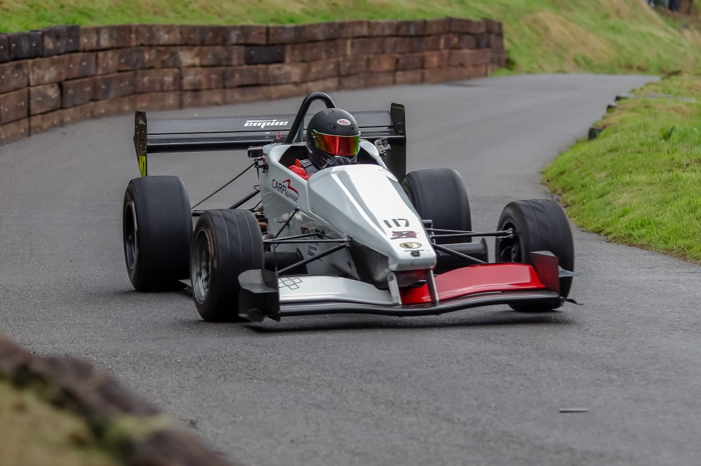 Zach Zammitt's Empire EVO 2 at Shelsley (J Hallett)