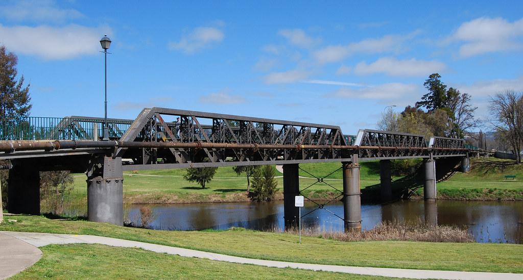 Original Road Bridge, Bathurst, NSW.