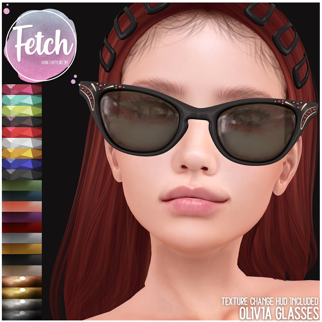 [Fetch] Olivia Glasses @ Saturday Sale! - TeleportHub.com Live!