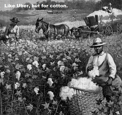 Uber's Employment Model: Sharecropping.