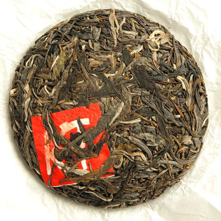 """2019 Spring """"BU LANG GU SHU """"(PA DIAN village) 100g Cake Old Tree Puerh Sheng Cha Raw Tea"""