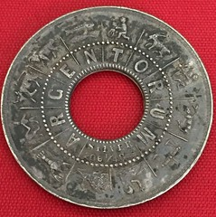 1886 Eutopia Dollar Sans Gold Center reverse