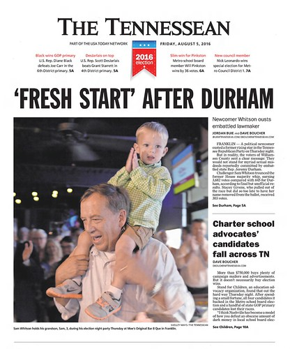 The_Tennessean_Fri__Aug_5__2016_ | by CahalanJones