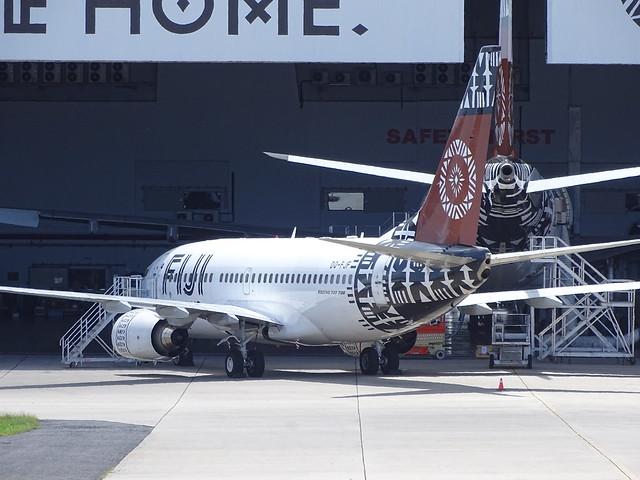 Fiji Airways Boeing 737-700 DQ-FJF