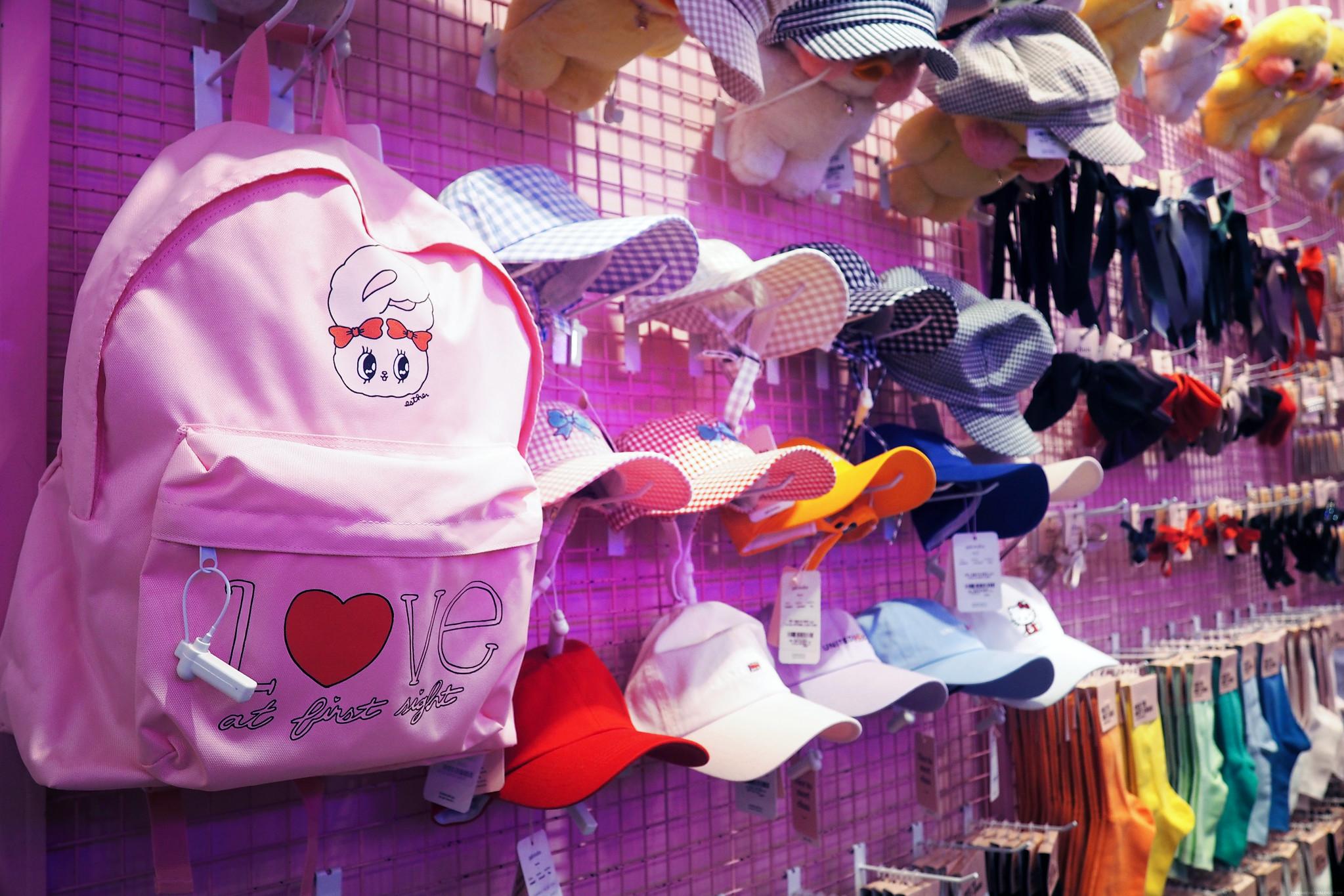 Estherlovesyou Pink Backback Estherloveschuu _effected