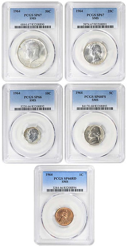 1964 Special Mint Set quarter