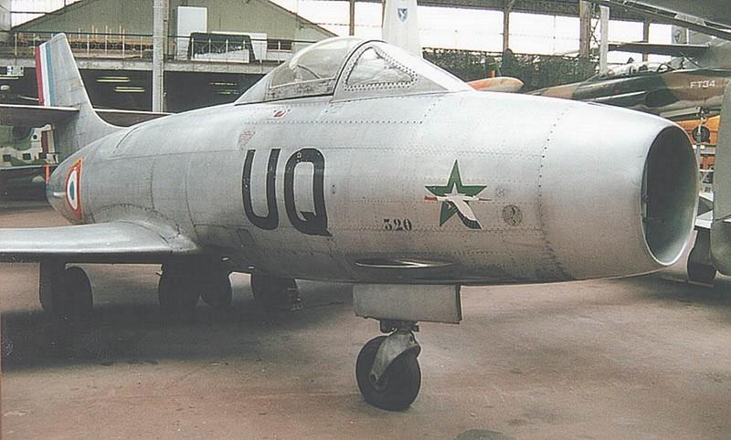 Dassault MD-450 Ouragan 00001