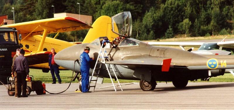 De Havilland SK 28 C2 Vampire 00001